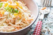 Koude schotels en salades/Salads / Recepten voor koude schotels en salades
