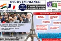 Study in France / Most of the Universities in France have been allotted Financial Times ranking, owning all the prestigious accreditations such as AACSB, EQUIS, EMBA, EFMD, and many...