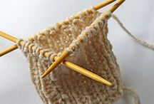 Knitting in the Round / Double pointed and circular knitting
