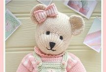 Knitting - Cute Little Faces / Cute toys to admire or knit (or try to)