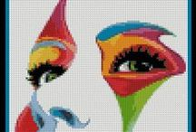 Cross Stitch and Hama Perler Bead Charts
