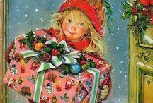 Nostalgische kerstkaarten/ Nostalgic Chrismas
