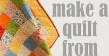 Quilting - for beginners / Baby steps to quilting - and a bit of patchwork thrown in