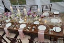 Rustic Elegance / Great rustic themed wedding ideas!