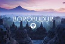 Borobudur - Indonesia - Bedforest / Indonesia. Java. Temples. Volcanoes. Architecture. Accommodation in Borobudur available on http://www.bedforest.com/borobudur/