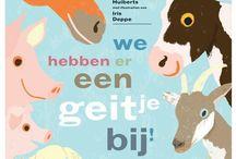 """We hebben er een geitje bij!                      #nationalevoorleesdagen / Verwerkingsideetjes bij het boek """"We hebben er een geitje bij"""""""