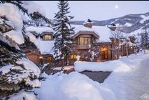The Chateau - 51 Chateau Lane | Ron Byrne & Associates / #BeaverCreekRealEstate - Located directly on Chateau Skiway, this magnificent, six bedroom, ten bath, ski-in/ski-out estate claims flawless views of the slopes and Beaver Creek's charming village.