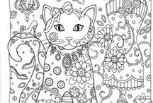 Art - Colouring Pages