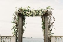 Ceremony / Wedding ideas and inspiration for when you walk down the aisle.
