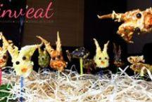 Pâques Original & Fun / Recettes et idées déco décalées pour une table de Pâques version Du Monde à Dîner. A vos fourneaux & ciseaux !!!