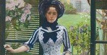 Fashion 1875 - 1880 / natural form, bodycon, princess line dress