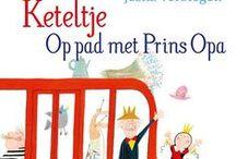 Groep 3 en 4 titels Kinderboekenweek 2016 / Titels die bibliotheek Emmen aanraadt voor groep 3 en 4 over het thema Voor altijd jong! Over opa's en oma's.