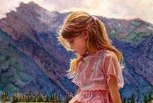 Art - by Steve Hanks / A beautiful artist - with gorgeous subjects