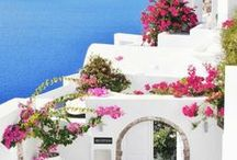 Santorini / Place on my Bucketlist, hopefully there will be a easier way to get there soon.