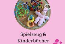 Spielzeug und Kinderbücher