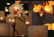 The Light Garden / The Light Garden Nature Illuminated provides lit florals, willows, crystals, flameless candles and vases.
