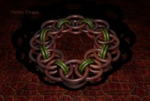 Chainmaille Weaves / Images I created in blender of different chainmaille weaves along with some actual items I have made. See step by step Images on how to make these weaves here http://www.facebook.com/ChainmailleByKv