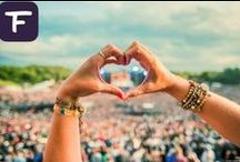 Festicket Festivals / Festival photography, fantastic stages, alluring sunsets, dynamic artistic sculptures and potential celebrity spottings make festivals feel like a paradise escape. / by Festicket