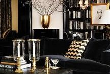Home : Black Room / Make it all in black! It's decpicable ME! Black walls, black decor, black interior, black design!