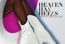 Boots & Beauty / From the pages of our October 2013 Boots & Beauty Issue. Check it out at HeavenHasHeels.com.