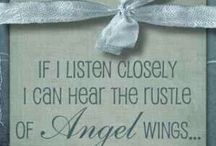 Angels linen and wings