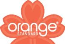 Orange Standard Scrubs / Comfort and fashion are yours in Orange Standard scrubs.