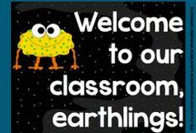 Space, Aliens & Monsters! / Everything related to space to get you inspired to decorate your space-themed classroom!