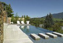 Piscine / Décoration de jardin, idées de bassins, piscines pour se prélasse - De Fil en Déco vous propose dans cet album des idées déco de jardin.