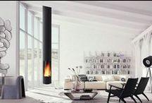 Ca chauffe / Découvrez les tendances déco en matière de poêles et cheminées