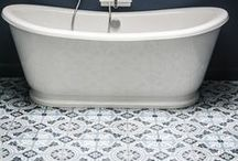 Du sol aux murs / Retrouvez toutes les tendances déco en matière de revêtements de sols et de murs