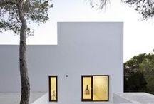 Viviendas / Viviendas modernas contemporáneas minimalistas