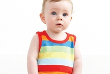 Brights and Stripes / A selection of the bold bright and stripe collection available at The Baby Box Company