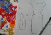 My fashion projects  / My own fashion projects and designs.