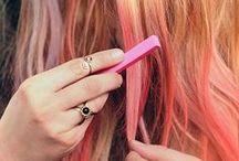 Pink hair love