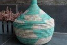 Kurver / Baskets / Kurver fra mange ulike land som selges i nettbutikken.