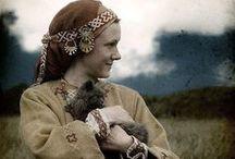 Medieval Russian Clothing / damskie ubiory wczesna Ruś; rekonstrukcja