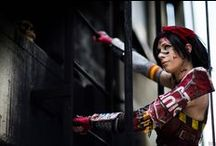 Cosplay - Atomic Wonder Woman - Infinite Crisis - Max TRS / Shooting avec Max TRS Cosplay https://www.facebook.com/TRSCosplay