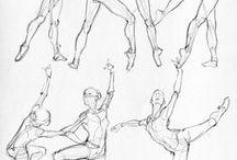 Материалы для рисования / Уроки, рисование, анатомия, прочее