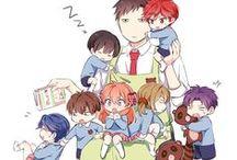 Gekkan Shoujo Nozaki-kun / Monthly Girls' Nozaki-kun, anime, manga, fanart, horishima, HoriXKashima, Mikorin