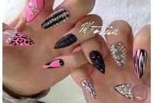 Makeup,nails,hair.