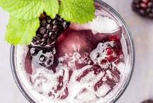 Drinks. / Delicious, refreshing drink recipes I wanna try!