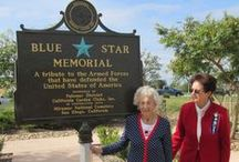 Blue Star Memorial Markers / The Blue Star Memorial Program honors all men and women that serve in the United States Armed Services.  Markers have been placed in every state of the country.  Gold Star Markers are now available. / by National Garden Clubs, Inc.