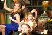 Cluedo / KruTalent brings this popular game back! The characters come to life throughout your venue, the mystery is evident throughout and as the night plays out the game comes to life before your eyes! Fore more ideas and inspiration for your Cluedo party please contact KruTalent International. T: 0207 610 7120 E: bookings@krutalent.com