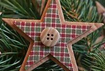 wooden ornaments/ drewniane dekoracje