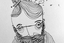 mehrkuzio Illustratorin | Grafik / #mehrkuzio #drawings #skizzen