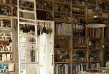 Apothecary Studio / Part wish list, part inspiration for my Sacred Land Sage's blending space. That corner where science and art are joined in wonder.