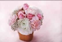 On voit la vie en rose / Que ce soit pour les robes des demoiselles d'honneur, les fleurs ou même votre robe de mariée, le rose tendre nous séduit au premier regard!