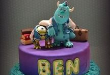 Character cakes! / Edible Sweet n' Treats of various Characters you love!