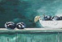 Eigen werk: Schilderijen Acryl op doek / Door mijzelf geschilderde schilderijen