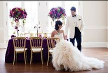 Mardi Gras Inspiration Shoot / Traditional New Orleans Mardi Gras wedding inspiration featured on Southern Wedding, designed and styled by Charlotte Wedding Planner The Graceful Host; Captured by Charlotte Wedding Photography Old South Studios.